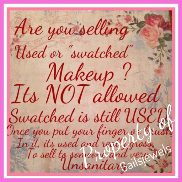 Or Swatched Its Used Accessories Selling Used Or Swatched Makeup